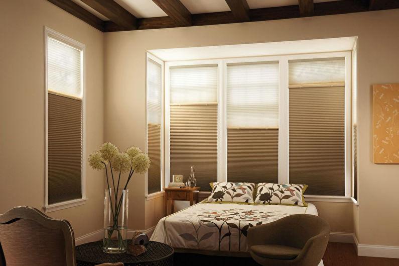 Рулонные шторы для спальни