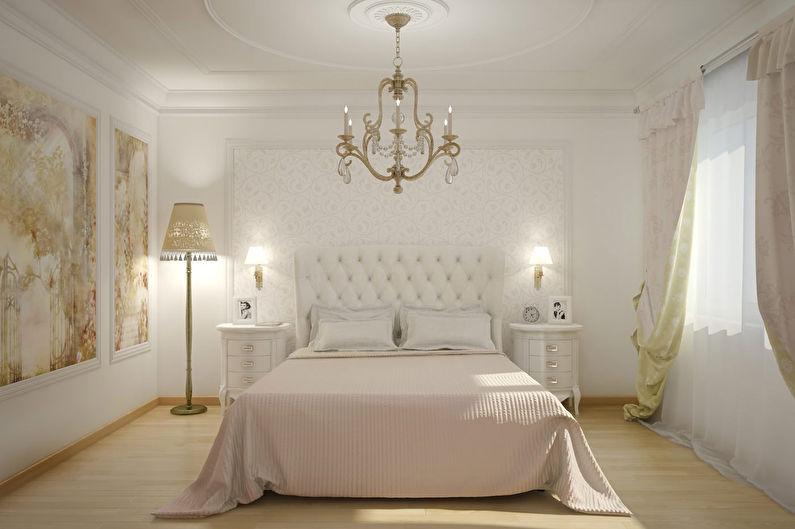 Шторы для спальни в классическом стиле
