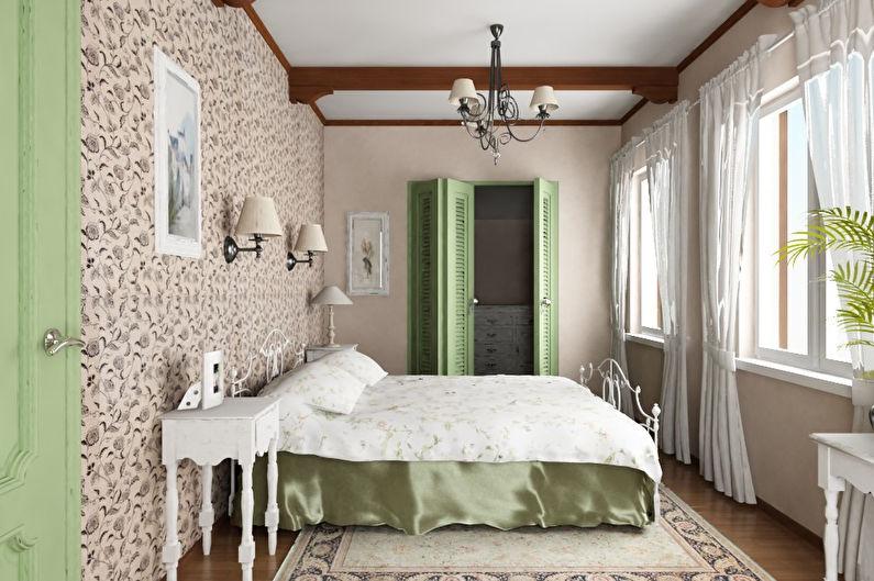 Дизайн спальни в стиле прованс - особенности стиля