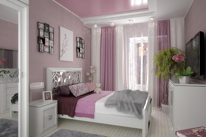 Дизайн розовой спальни в стиле прованс
