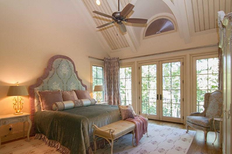 Мебель для спальни в стиле прованс - Кровать