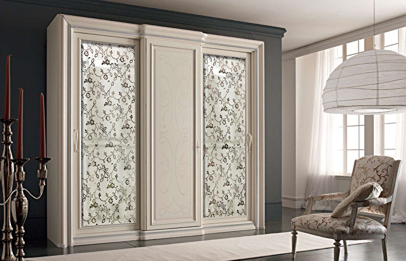 Мебель для спальни в стиле прованс - Шкаф