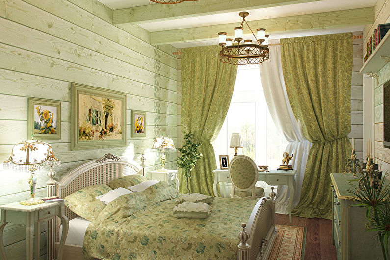Мебель для спальни в стиле прованс - Техника