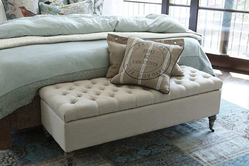Мебель для спальни в стиле прованс - Дополнительные элементы