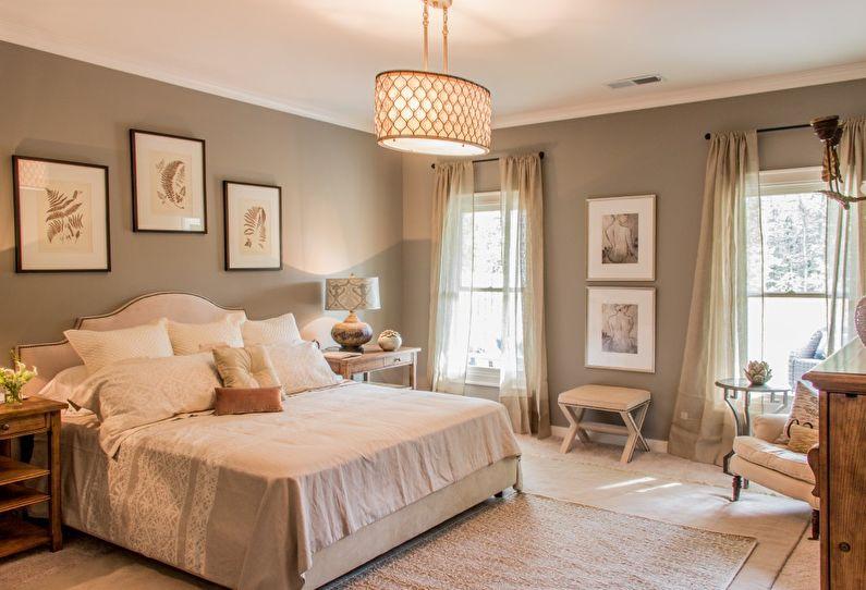 Декор спальни в стиле прованс