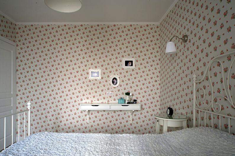 Дизайн маленькой спальни в стиле прованс