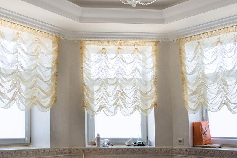 Шторы в стиле прованс - Французские шторы