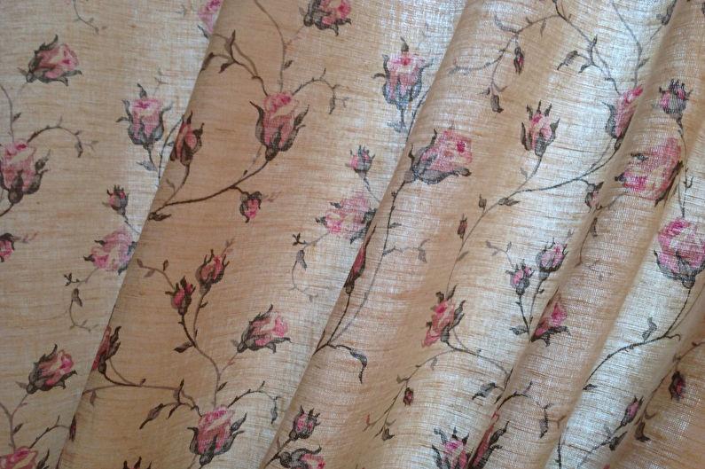 Шторы в стиле прованс - Текстиль