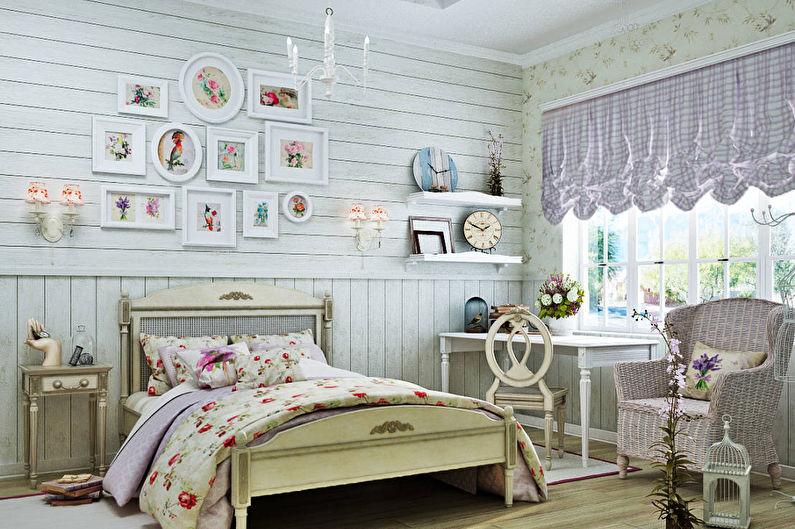 Шторы в стиле прованс для детской комнаты