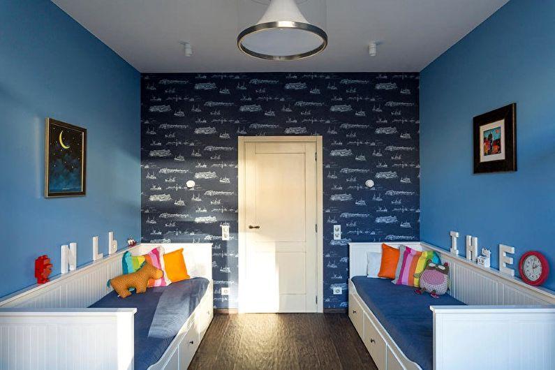 Дизайн трехкомнатной квартиры в стиле лофт - фото
