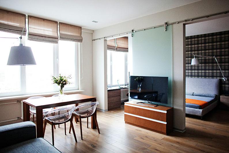 Дизайн квартиры в стиле лофт для холостяка - фото