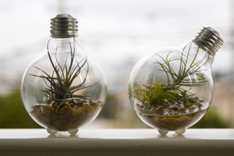 Декор комнаты своими руками - Сад в бутылке или флорариум