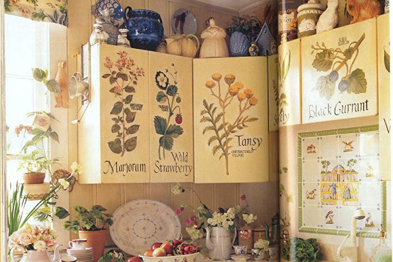 Декор комнаты своими руками - Декупаж в интерьере
