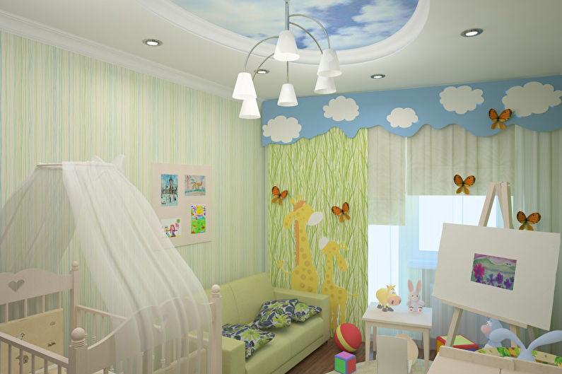 Дизайн детской комнаты для мальчика до 3 лет