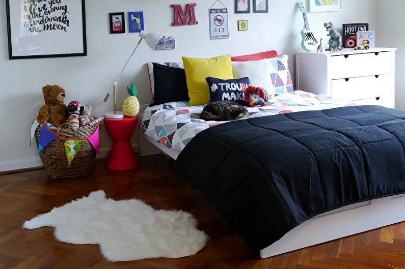 Дизайн детской комнаты для мальчика от 3 до 5 лет