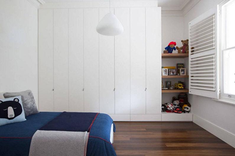 Дизайн детской комнаты для мальчика - Отделка пола