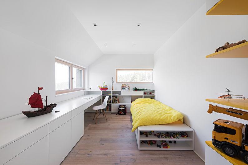 Дизайн детской комнаты для мальчика - Выбор мебели