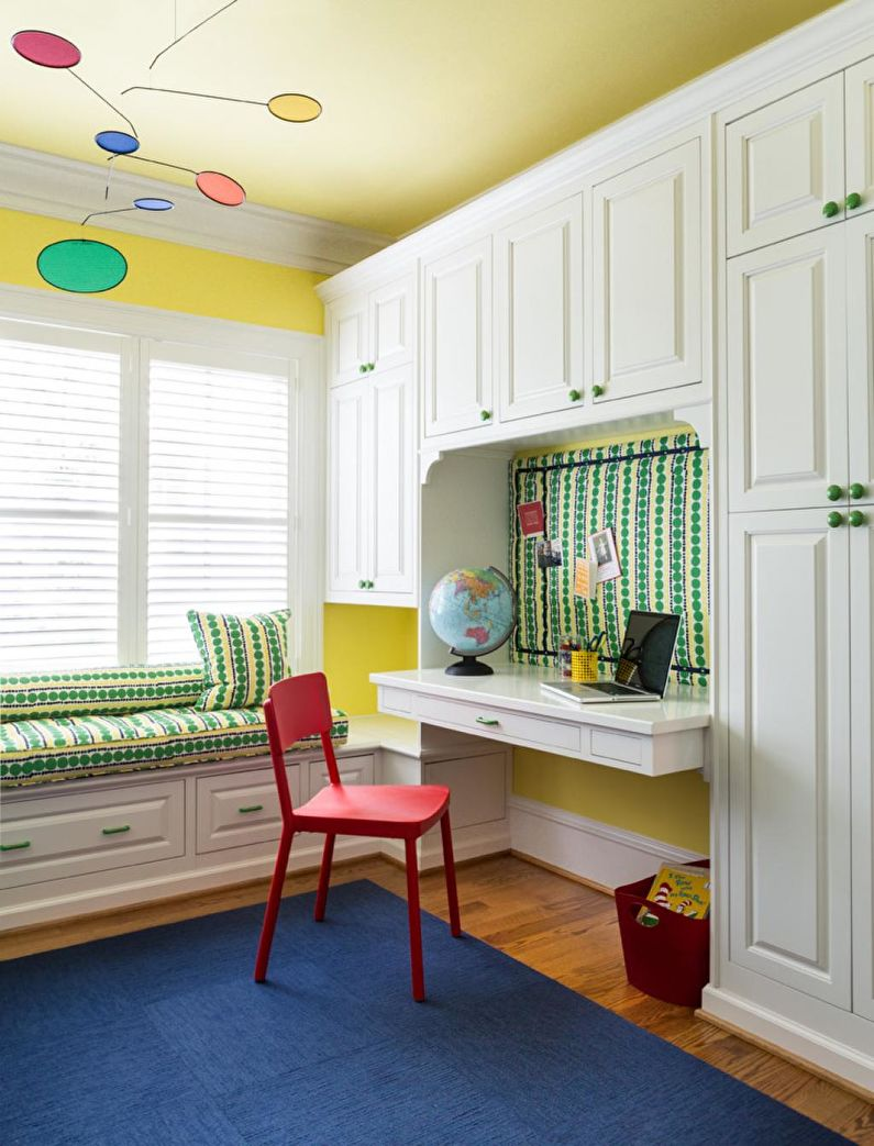 Дизайн детской комнаты для девочки - Выбор мебели