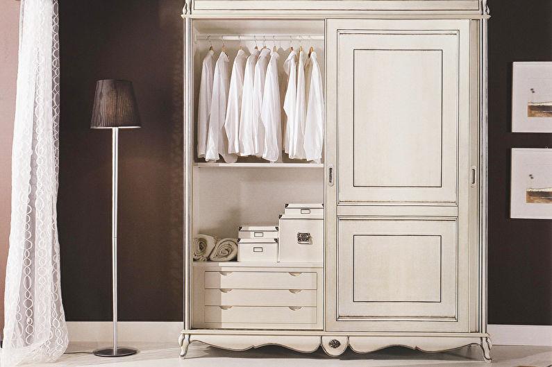 Шкафы-купе для прихожей в стиле прованс