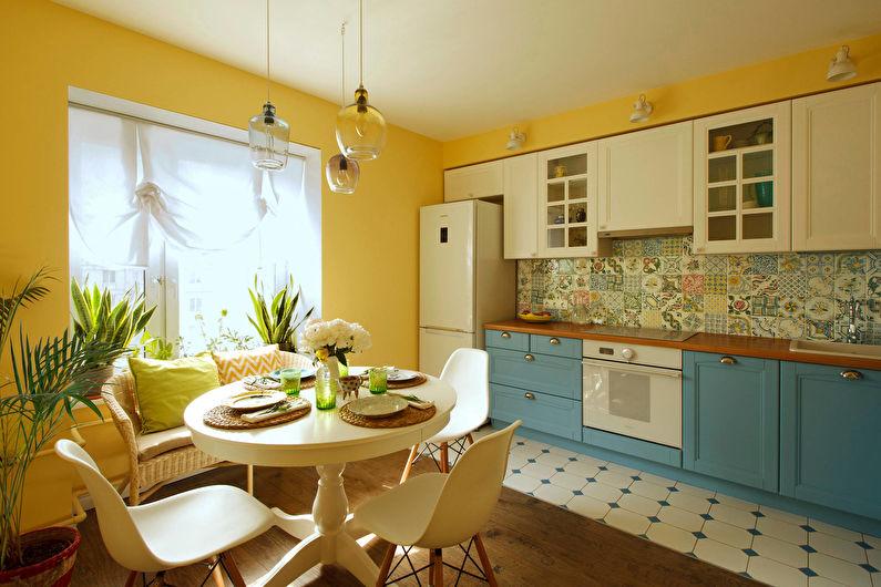 Дизайн кухни 12 кв.м. в стиле прованс