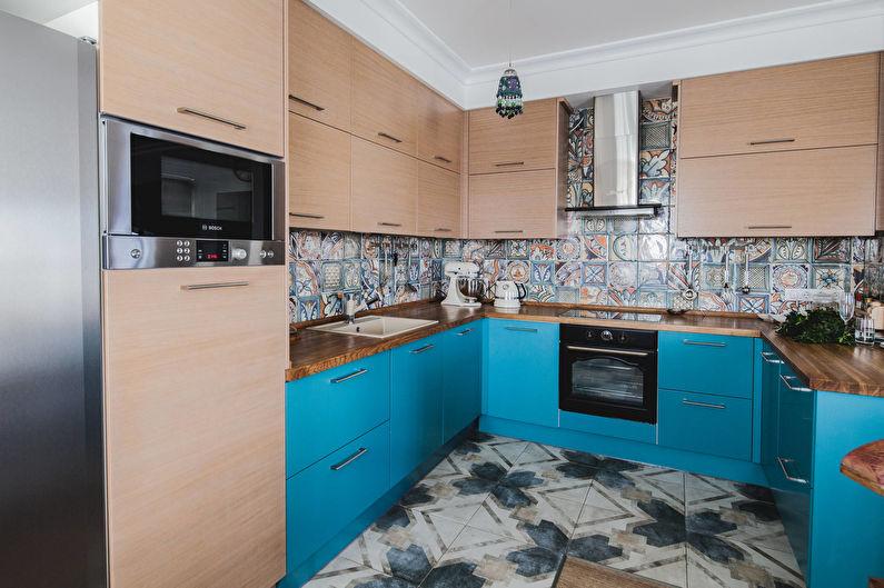 Дизайн кухни 12 кв.м. - Расстановка мебели