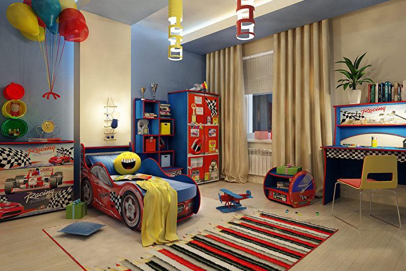 Дизайн детской комнаты для мальчика (75+ фото)