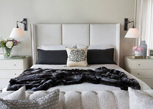 Дизайн спальни 9 кв.м. (70 фото)