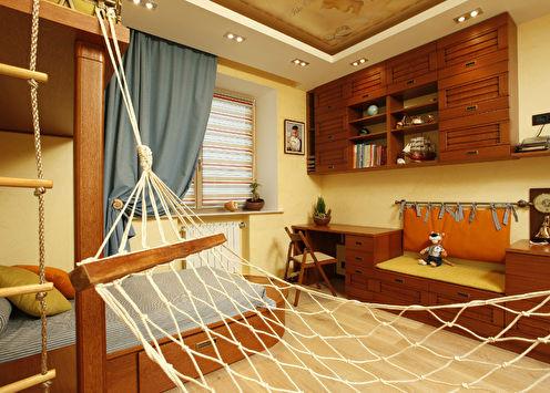 Детская комната «Пиратский остров»