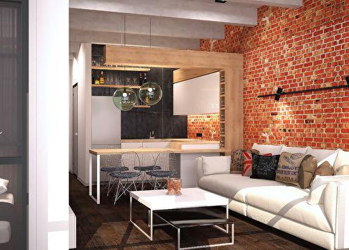 Апартаменты в стиле лофт, ЖК «TriBeCa»