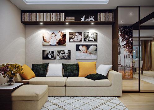 «Шкатулка тепла и уюта»: Квартира 45 м2