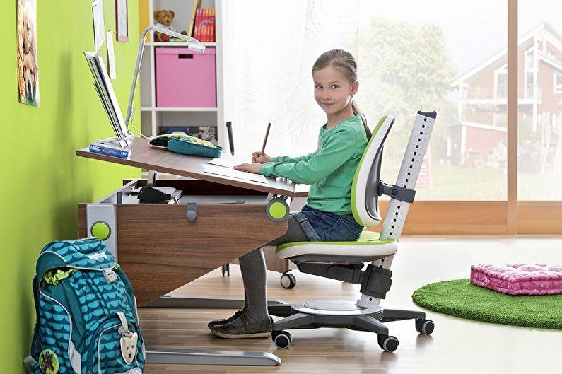 Письменный стол для школьника - Как подобрать размер