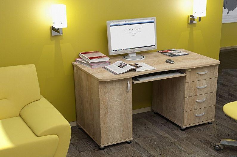 Письменный стол для школьника из ЛДСП