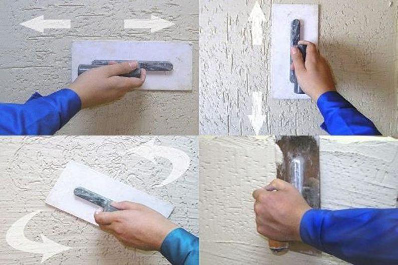 штукатурка короед видео инструкция