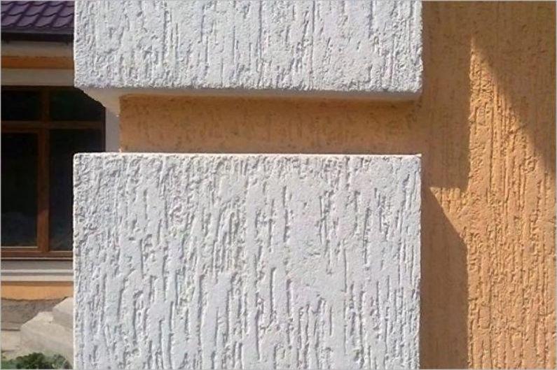 Штукатурка короед - фото