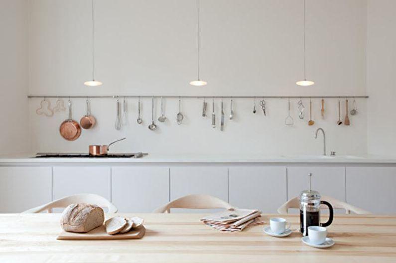 Выбор рейлинга под стиль кухни