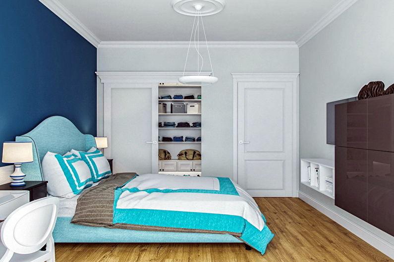 70+ идей дизайна бирюзовой спальни