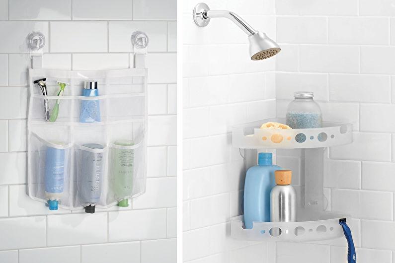 Аксессуары для ванной комнаты - Органайзеры для душа
