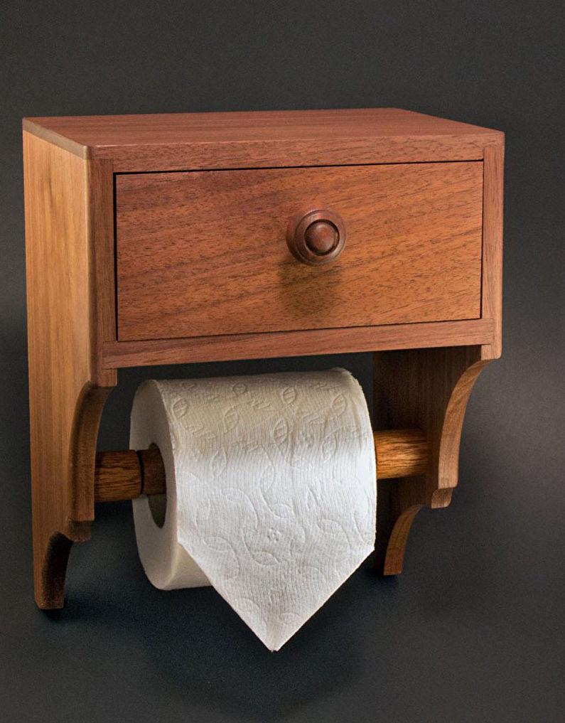 Аксессуары для ванной комнаты - Держатели для туалетной бумаги