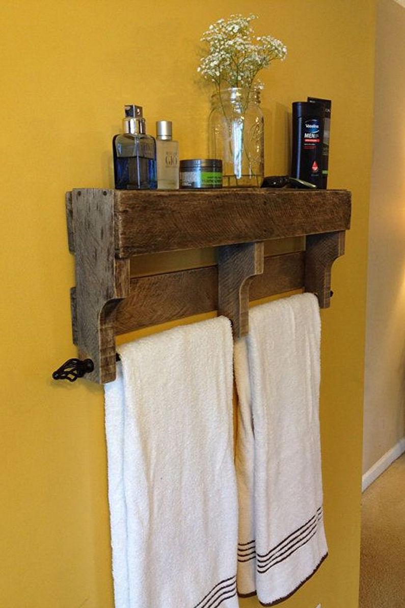 Аксессуары для ванной комнаты - Вешалки