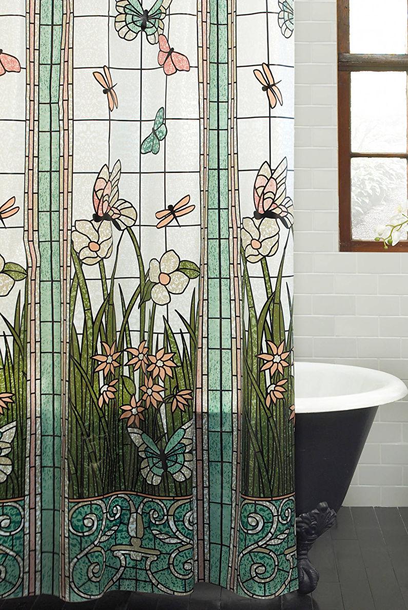 Аксессуары для ванной комнаты - Шторки