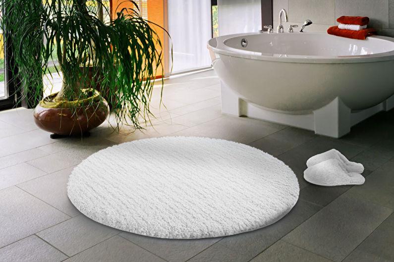 Аксессуары для ванной комнаты - Коврик