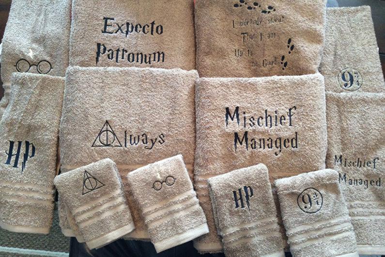Аксессуары для ванной комнаты - Полотенца