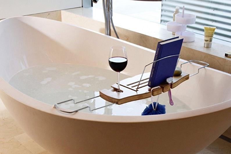 Аксессуары для ванной комнаты - Полка для книжек