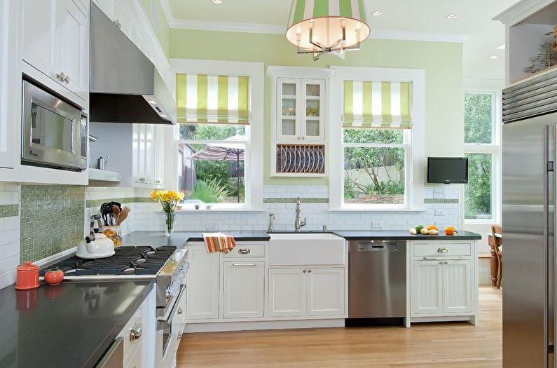 Шторы для кухни - Требования к ткани