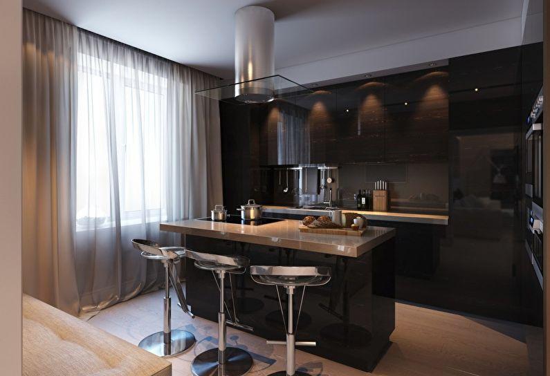 Шторы на кухню - фото