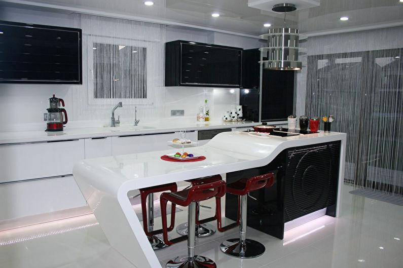 барные стойки для кухни 80 фото дизайн кухни с барной стойкой