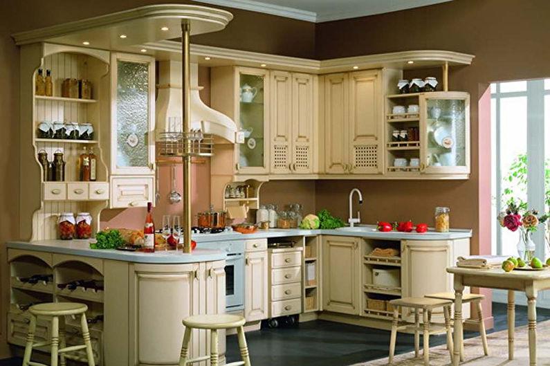 Барная стойка для кухни в стиле прованс