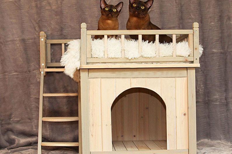 Домик для кошки - Домики-будки