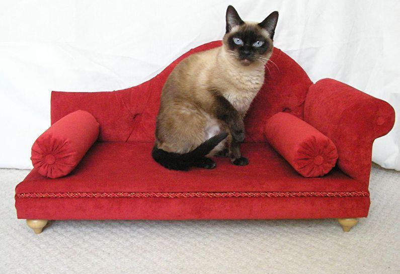 Домик для кошки - Миниатюрная мебель