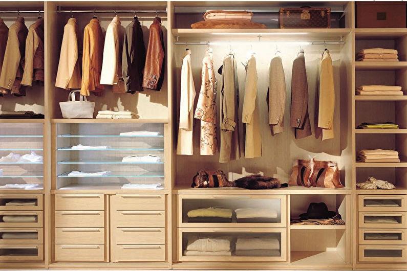 Встроенный шкаф-купе своими руками - наполнение